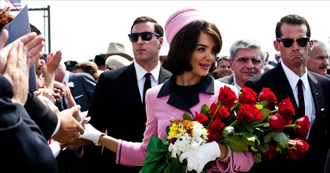 Katie Holmes reprising Jackie O role in miniseries