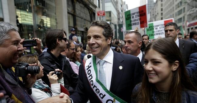 NY Columbus Day parade draws revelers, politicians