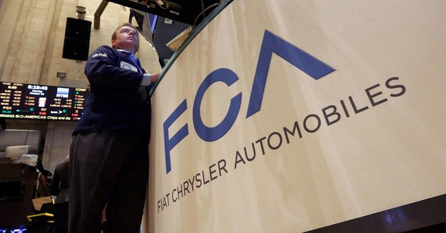 Fiat Chrysler shares close down in 1st day on NYSE