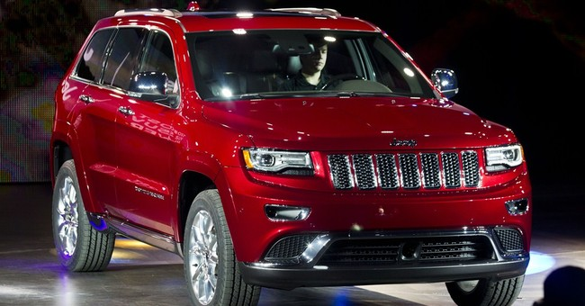 Chrysler recalls 184,215 SUVs for air bag defect