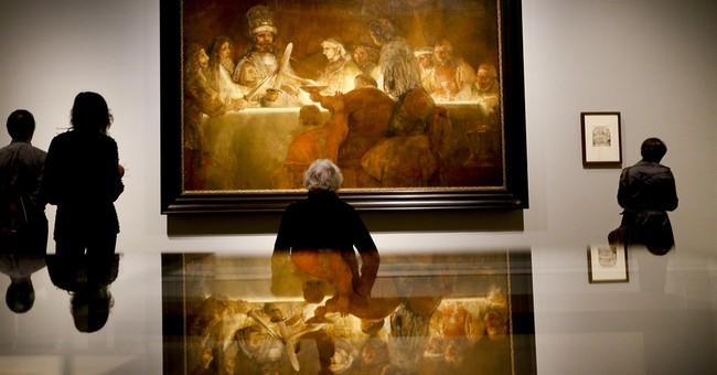 London show celebrates aging but unbowed Rembrandt