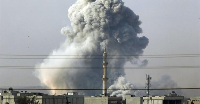 Activists: Airstrikes hit jihadi targets in Syria