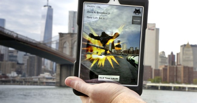 Can it be real? Augmented reality melds work, play