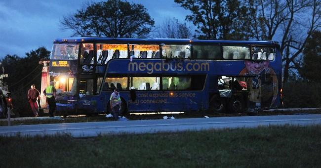 Indiana police: Megabus crashes, 18 injured