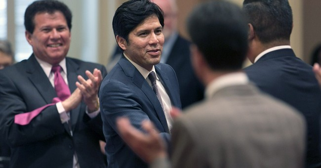 California leader preps for expensive swearing-in