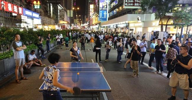 Hong Kong protests see weird, wonderful scenes