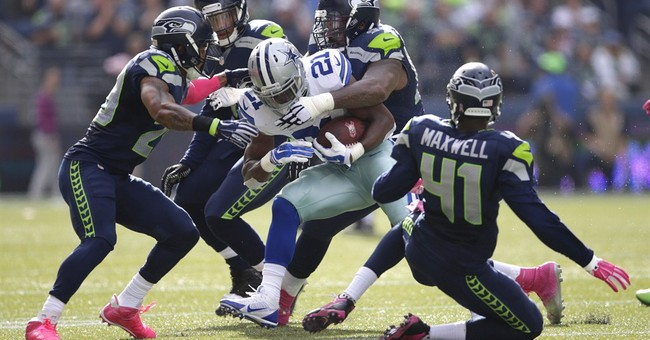 Dallas Cowboys RB Randle arrested on theft charge