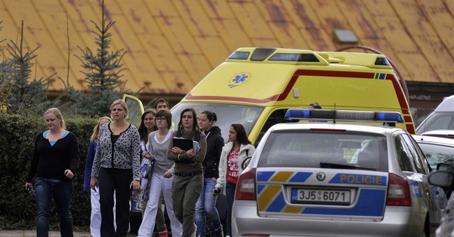 Woman kills teenager in Czech school attack