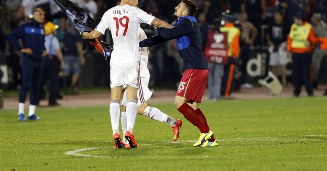 UEFA disciplinary action over Serbia-Albania chaos