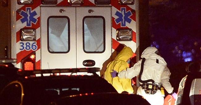 Nurse with Ebola arrives in Atlanta for treatment