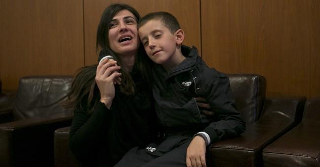 Kosovo frees 8-year-old from Syria captivity