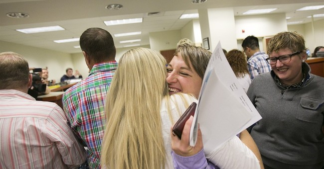 Gay marriage arrives in conservative Idaho