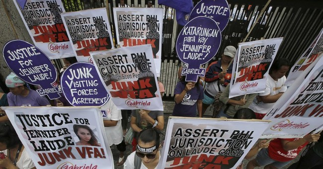 Philippine police accuse US Marine in murder case