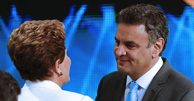 Brazil's 2 presidential hopefuls trade barbs