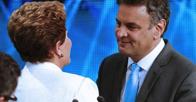 Brazil's 2 presidential hopefuls trade barbs