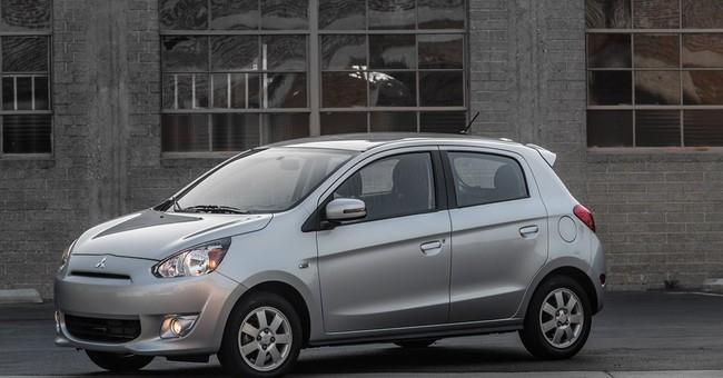 Top gas mileage goes to Mitsubishi Mirage