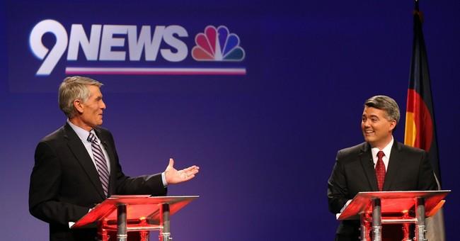 Familiar themes in final Colorado Senate debate