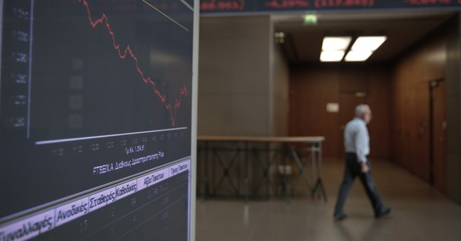 Greece returns to market spotlight with nosedive