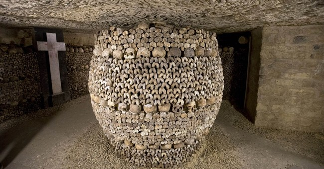 Paris Catacombs open at night ahead of Halloween