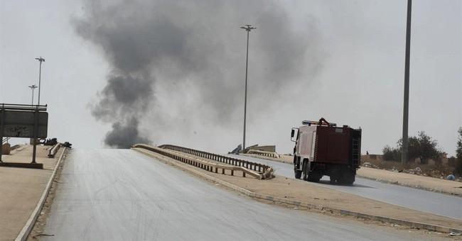 Egypt warplanes hit Libya militias, officials say