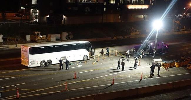 Police: Man stabbing people on bus fatally shot