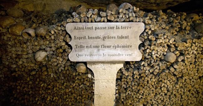 Paris Catacombs open at night ahead of Halloween