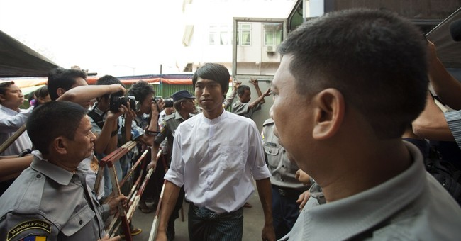 Myanmar jails 3 journalists for leadership report