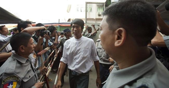 Myanmar jails 3 journalists for leadership report