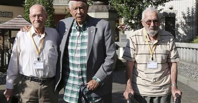 Ex-US POWs visit Japan, recall horrors of war
