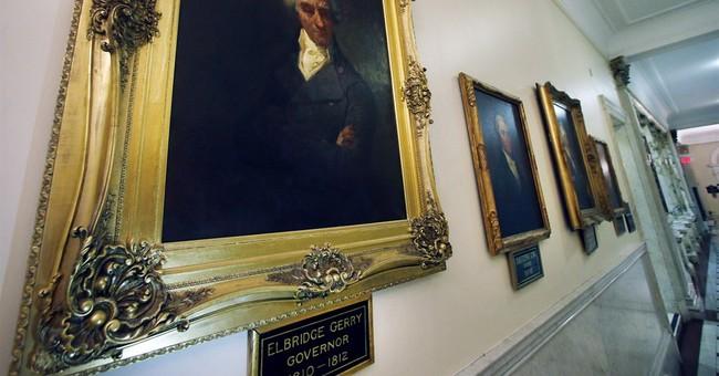 Early Mass. Senate district dubbed 1st gerrymander