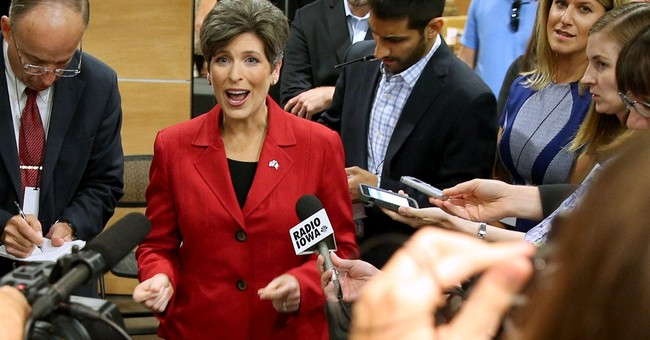Democrats try to tarnish Ernst's 'Iowa Nice' image