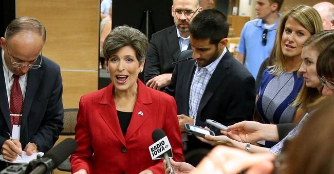 Democrats try to tarnish Ernst's 'Iowa Nice' image