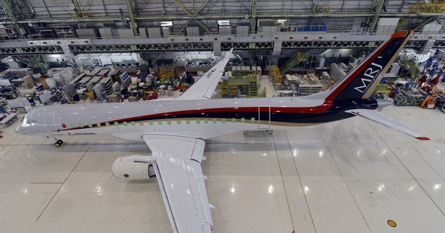 First Japan passenger jet in 4 decades rolling out