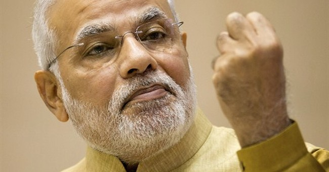 India PM announces overhaul of archaic labor laws