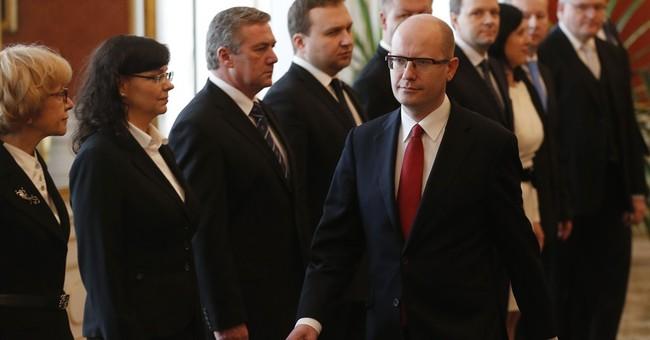 New Czech Republic coalition government sworn in