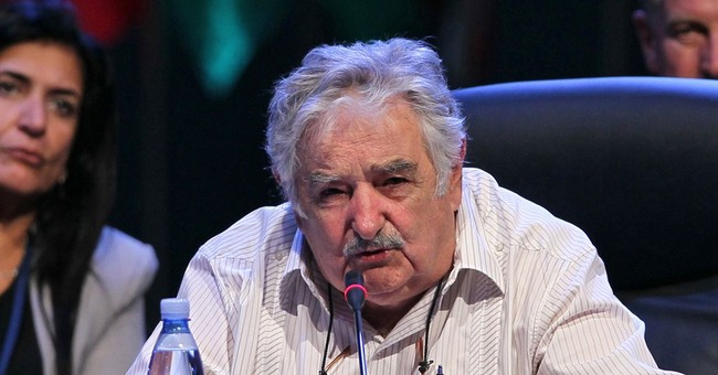 Uruguay president rails against the business suit