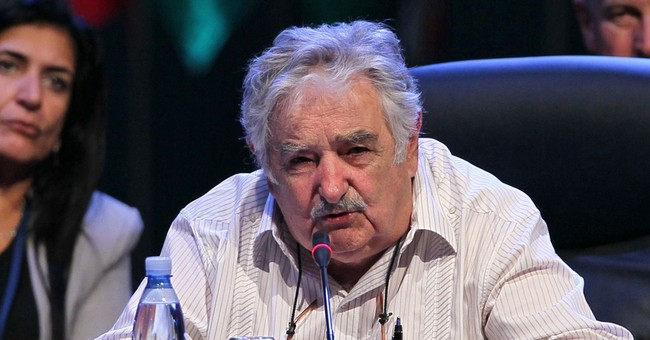 Uruguay president rails against the business suit