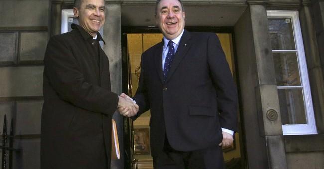 Bank of England chief wades into Scottish debate