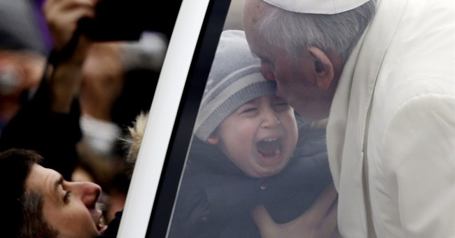 Pope describes when he learned to deprive himself