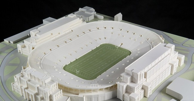 Notre Dame plans $400M project at football stadium