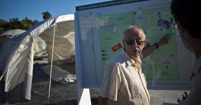 Head of Cuba's Ebola effort expects more aid soon