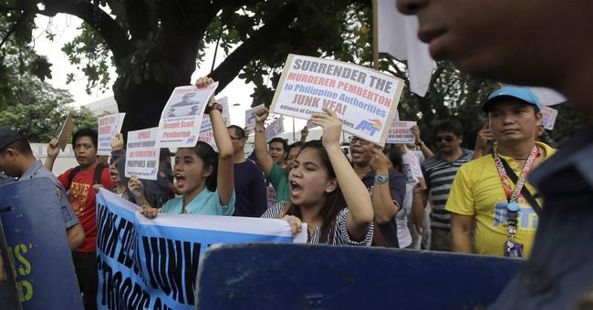 Philippines subpoenas US Marine murder suspect