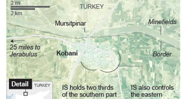 Kobani key to US strategy against Islamic State