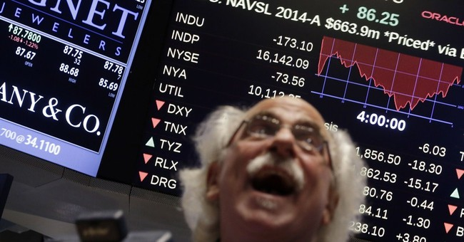 Fear-gauge flashes wild week on Wall Street
