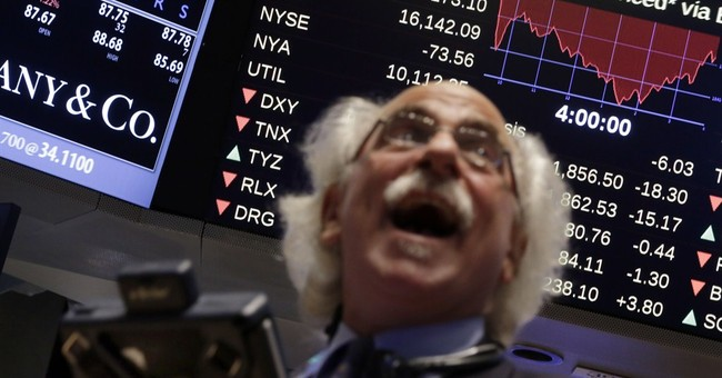 Fear-gauge flashes wild week on Wall Street