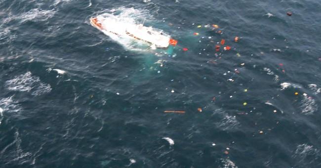 67-foot vessel sinks off Washington; 2 rescued