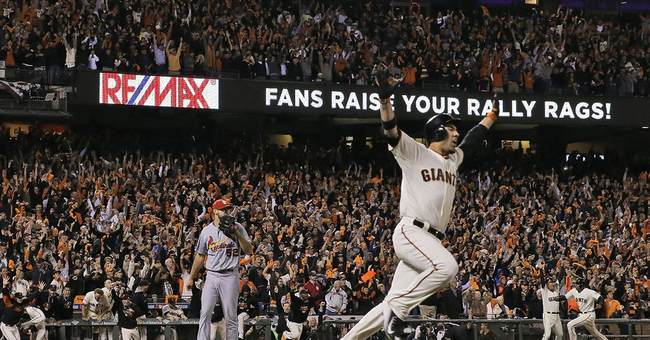 Ishikawa's 3-run HR sends Giants to World Series