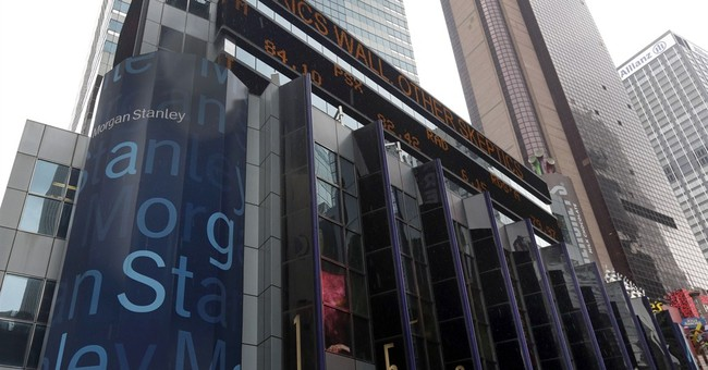 Morgan Stanley's income nearly doubles