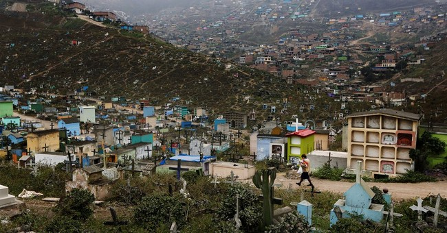 AP PHOTOS: Cemetery overcrowding around the world