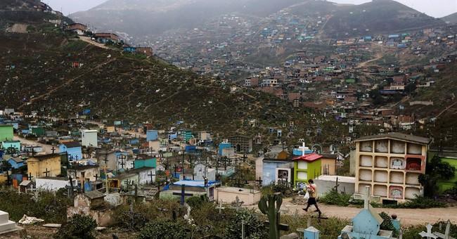 AP PHOTOS: Cemetery overcrowding around the world